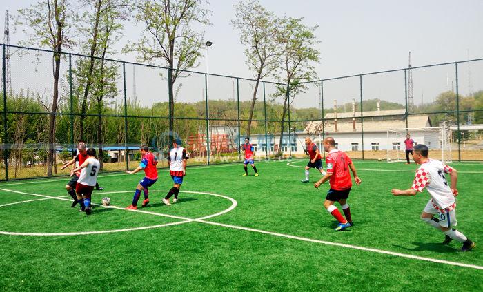 华丰公司为职工修建休闲健身运动园 环境倍儿好功能强大