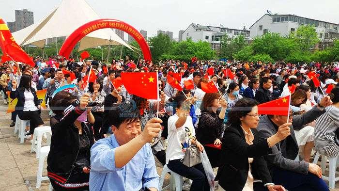 东洲区春雨惠民文化系列活动启动 还对优秀文化团队进行了表彰