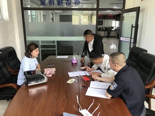 东洲区人民法院成功执结一起劳务合同纠纷案件