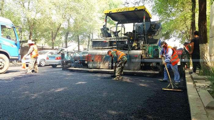 新抚区略阳街道路改造今日完工 东林路改造高考后再进行