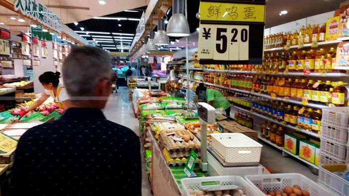 一分彩鸡蛋价格上涨明显  目前涨至每500克5.2元