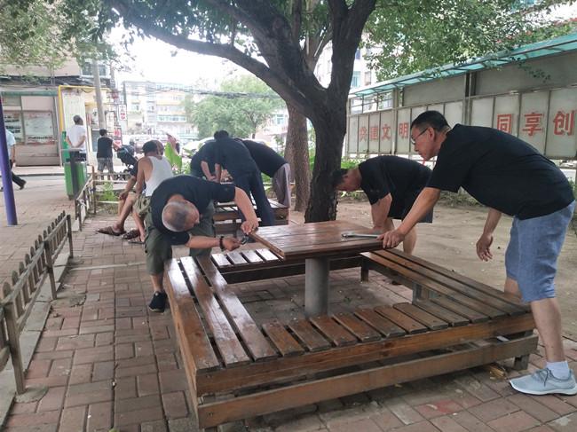 望花区打造健身器材维修志愿服务队  为全民健身运动提供后勤保障