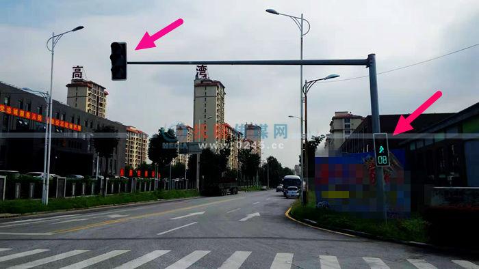 """沈吉高速""""热高乐园""""站附近十字路口有组信号灯""""休眠"""""""