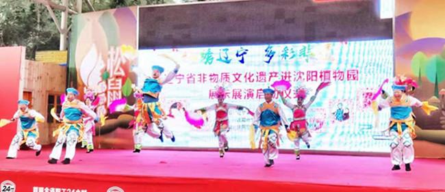 快去看吧!辽宁省非物质文化遗产展正在沈阳市植物园举办 有咱抚顺6项非遗项目