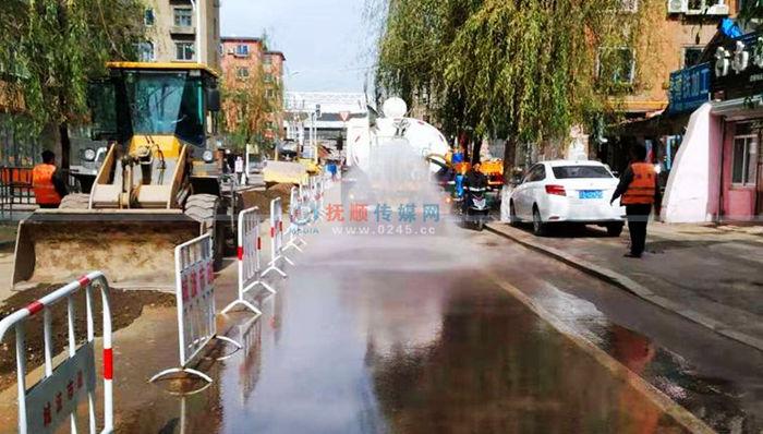 抚顺重视施工现场扬尘问题 市政府批示责成严查立行立改