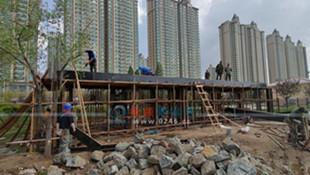 十里滨水公园增建两处公厕 预计下个月投入使用