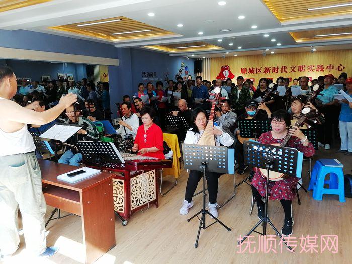 东华园社区合唱队成立啦 演出也安排上啦