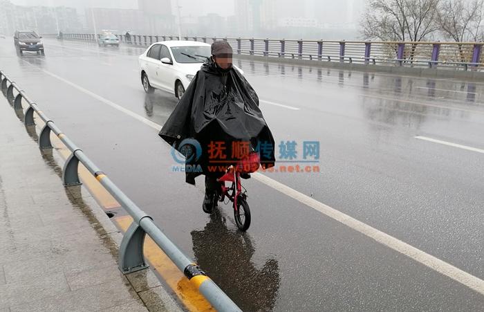 冬季到抚顺来看雨 气象部门发布路面结冰黄色预警