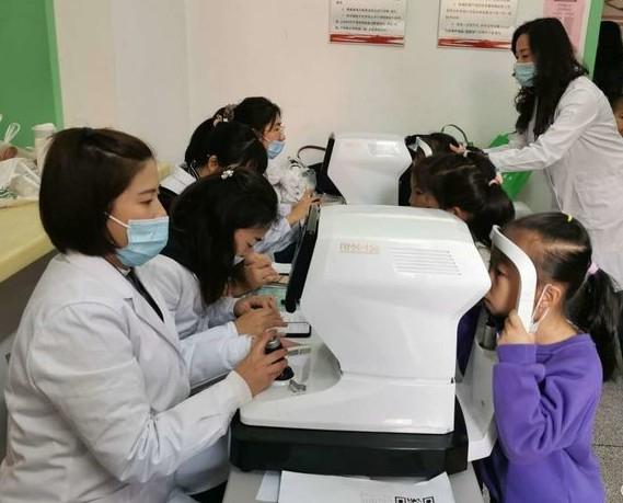 抚顺儿童青少年视力筛查活动进行中 你家孩子做了吗?