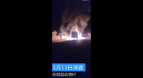 39吨油罐车起火烈焰冲天 他们的出现让人振奋又感动