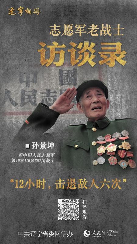 志愿军老战士访谈录  孙景坤